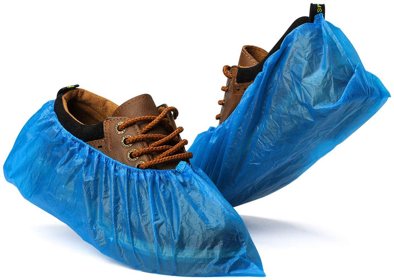 Medical Non-Slip Waterproof Disposable Shoe Covers, One Size Fits All