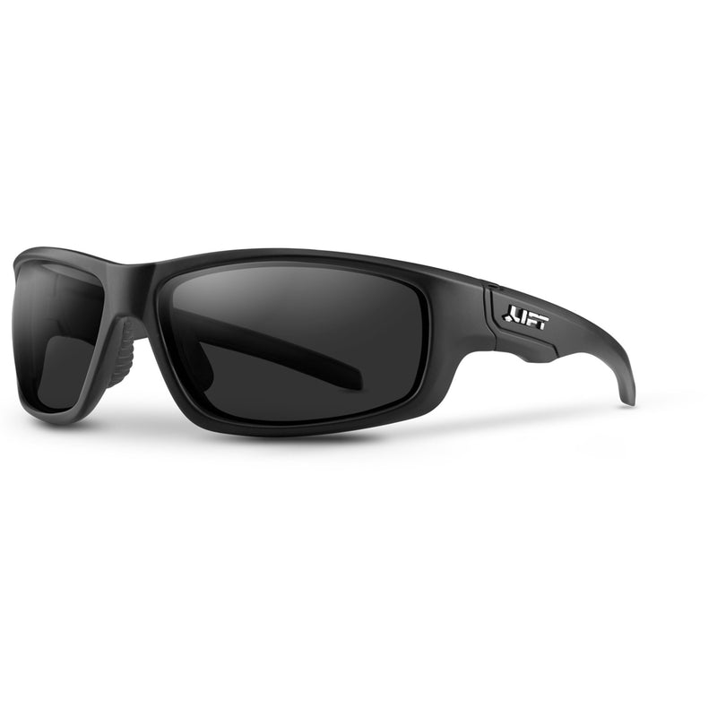 Lift Safety ESC-18KC - SONIC Safety Glasses (Black/Clear) (Cases of 6 Packs)