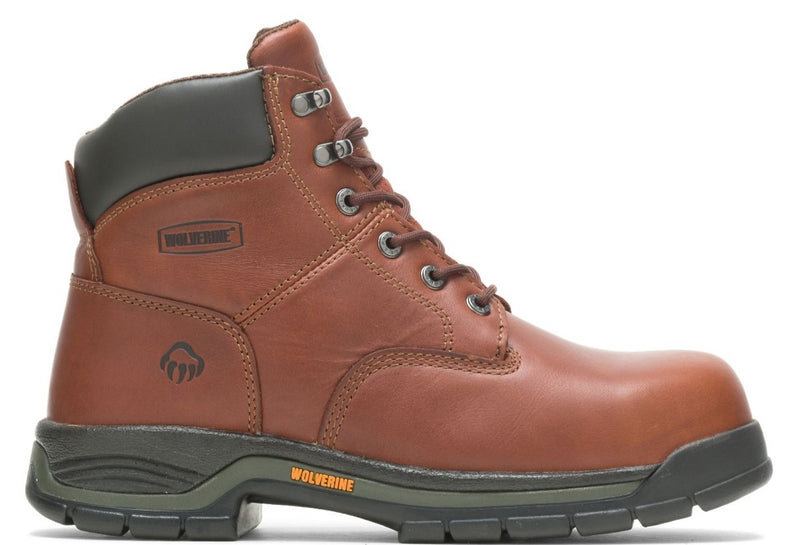 "Wolverine W04906 MEN'S HARRISON LACE-UP 6"" WORK BOOT"