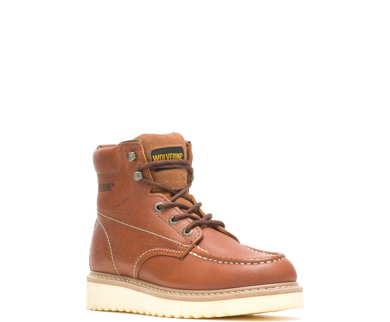 "Wolverine W08288 MEN'S MOC-TOE 6"" WORK BOOT"