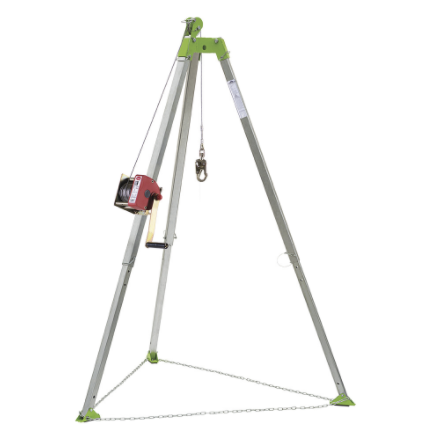 Peakworks V85025 Confined Space Kit: Tripod, 65' (20 M) Man Winch And Bag