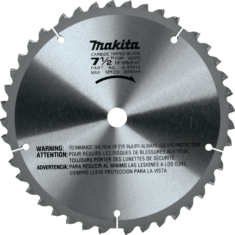 "7‑1/2"" 40T Carbide‑Tipped Miter Saw Blade(Pack of 50)"