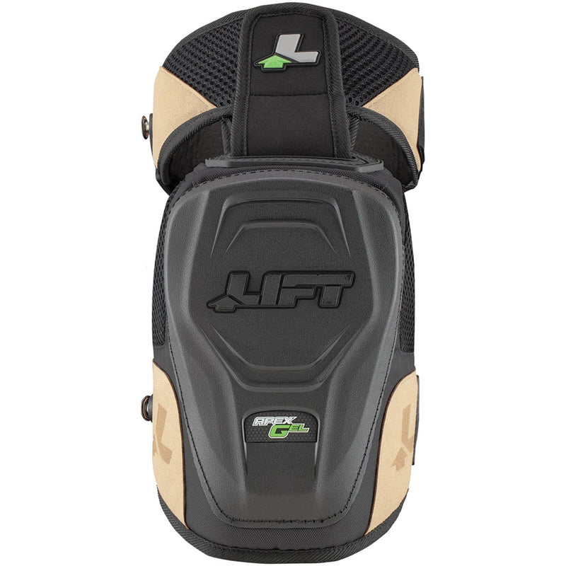 Lift Safety KAH-15K - APEX GEL Knee Guard - Hardshell(Case of 3 Pack)