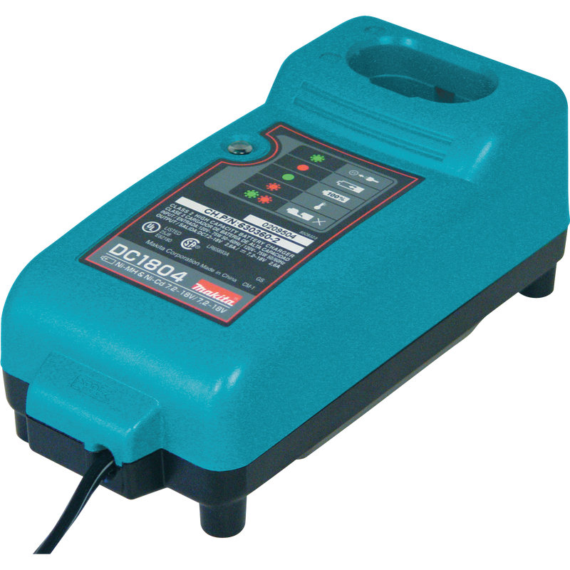 Makita DC1804 7.2V ‑ 18V Universal Battery Charger (Pack of 10)