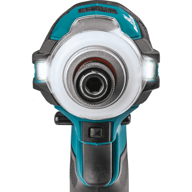 Makita XDT16R 18V LXT® Lithium‑Ion Compact Brushless Cordless Quick‑Shift Mode™ 4‑Speed Impact Driver Kit (2.0Ah)