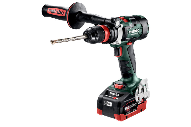 Metabo 602355620 18V Brushless 3-Speed Drill/Driver Kit 2X 5.5AH LIHD