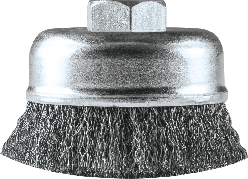 "Makita A-98382 3"" Crimped Wire Cup Brush, M10 x 1.25 (Pack of 40)"