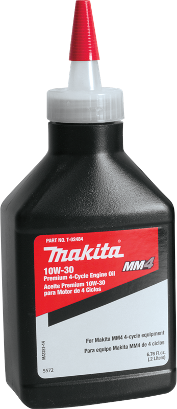 Makita T-02484 Premium 4‑Cycle Engine Oil, 10W‑30, 6.76 oz. (Pack of 12)