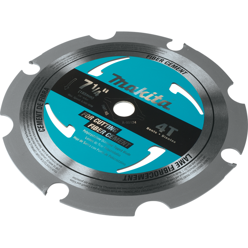 "Makita A-95124 7‑1/4"" 4T PCD Circular Saw Blade, Fiber Cement (Pack of 50)"