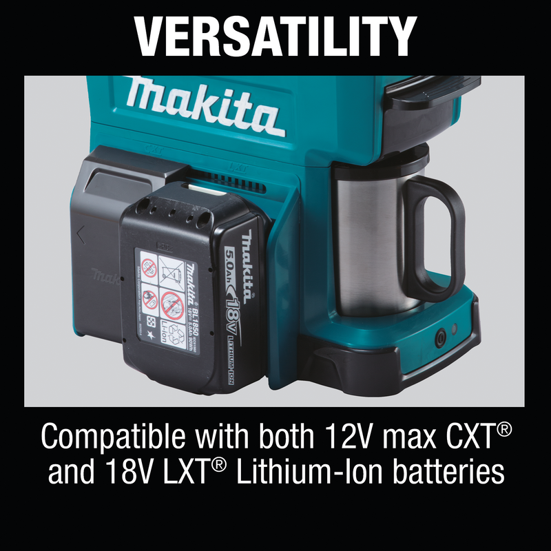 18V LXT® / 12V max CXT® Lithium-Ion Cordless Coffee Maker (Tool Only) (Pack of 2)