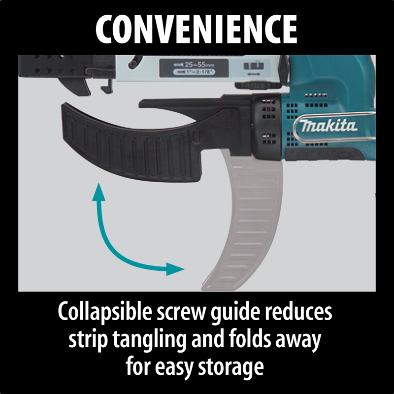 Makita XRF01Z 18V LXT® Lithium‑Ion Cordless Autofeed Screwdriver, Tool Only (Pack of 4)
