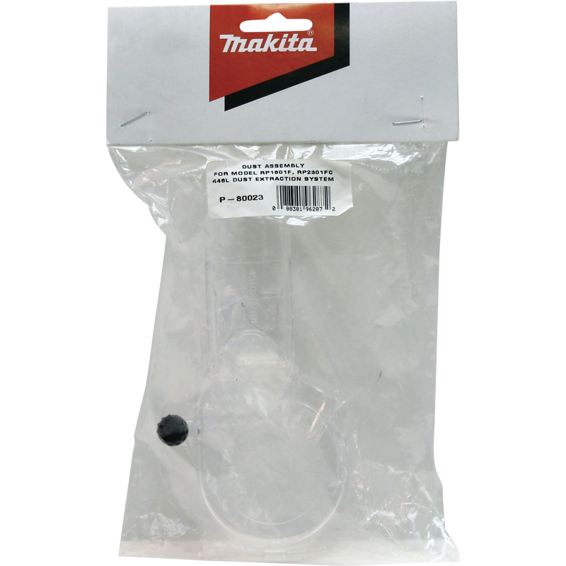Makita P-80023 Dust Extracting Attachment, Routers (Pack of 2)