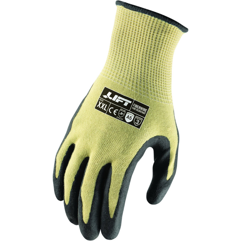 Lift Safety GHN-19LM - Lift Fiberwire FR A5 Neoprene Palm Gloves(Case of 8 Pairs)