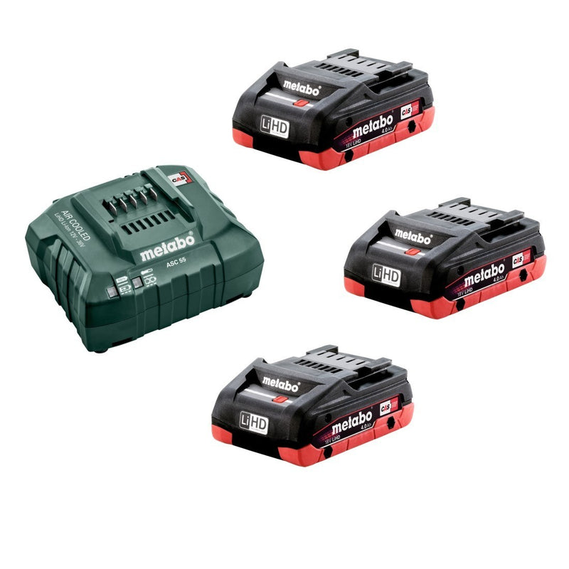 Metabo US625596052 2.0AH + 5.2AH Ultra-M Starter Kit