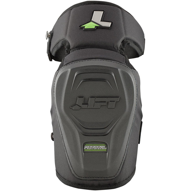 Lift Safety KPH-15K - PIVOTAL Knee Guard - Hardshell - (Case of 4 Pairs)
