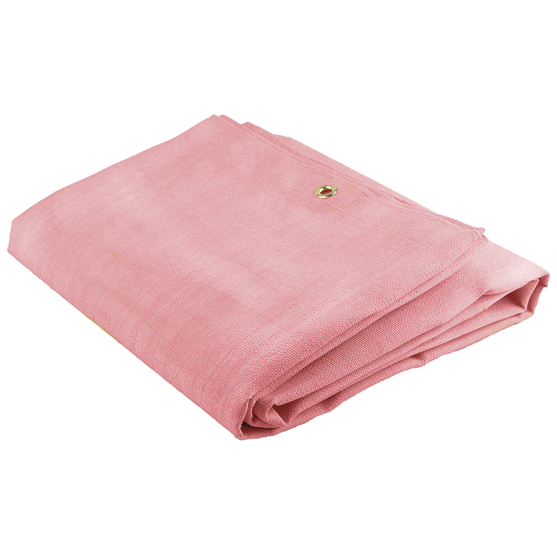 16 oz High-quality Fabric Acrylic Coated Fiberglass Welding Blanket Pink - 6'x8'(Case Of 6 Pcs)