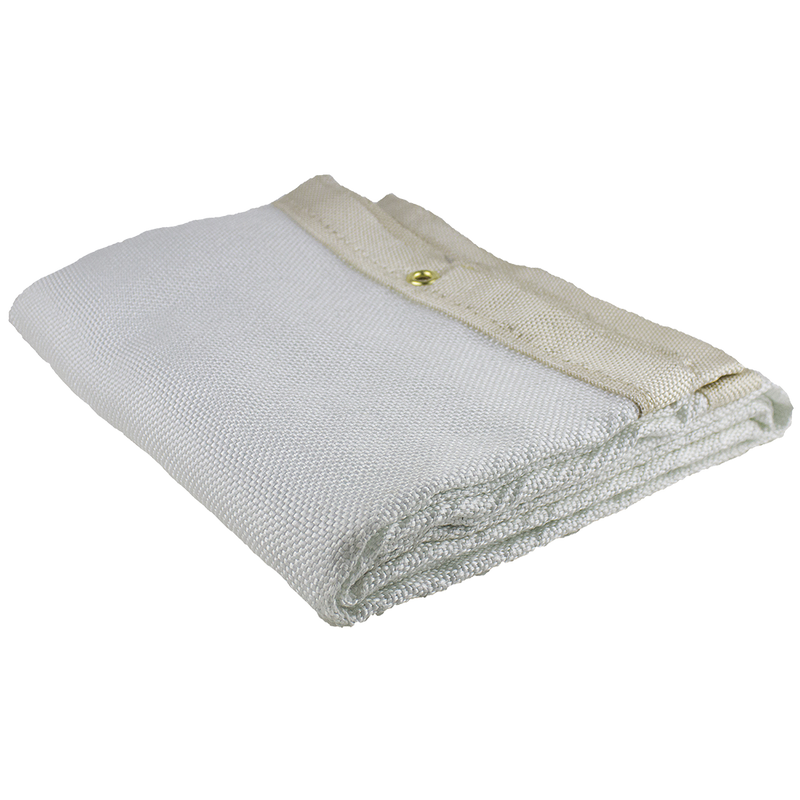 24 oz Acrylic Uncoated Fibreglass Welding Blanket White - 6'X8'(Case Of 6 Pcs)