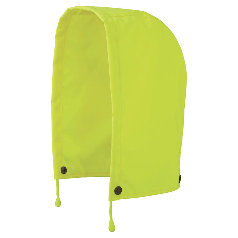 Pioneer V1200360U High Visibility Waterproof Hood Replacement for Safety Jacket Green -(Case Of 50 Pcs)
