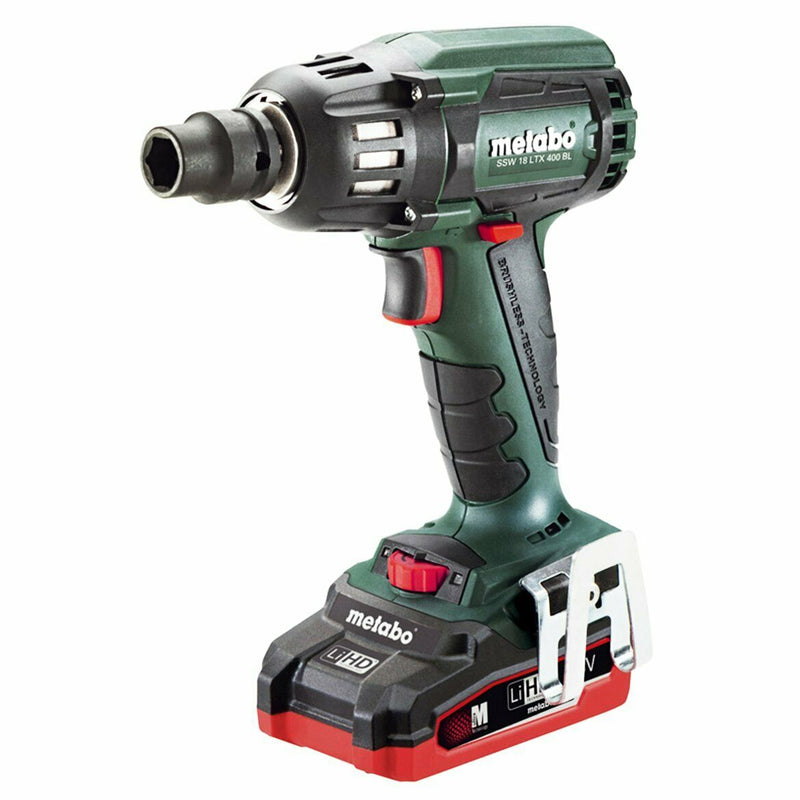 "Metabo US602205310 18V 1/2"" Sq. Brushless Impact Wrench Kit 2X 3.5AH LIHD"