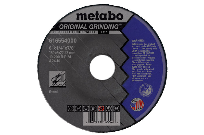 "4"" X 1/4"" X 5/8"" - A24N ORIGINAL GRINDING, 20 PCS/PACK(Pack of 25)"