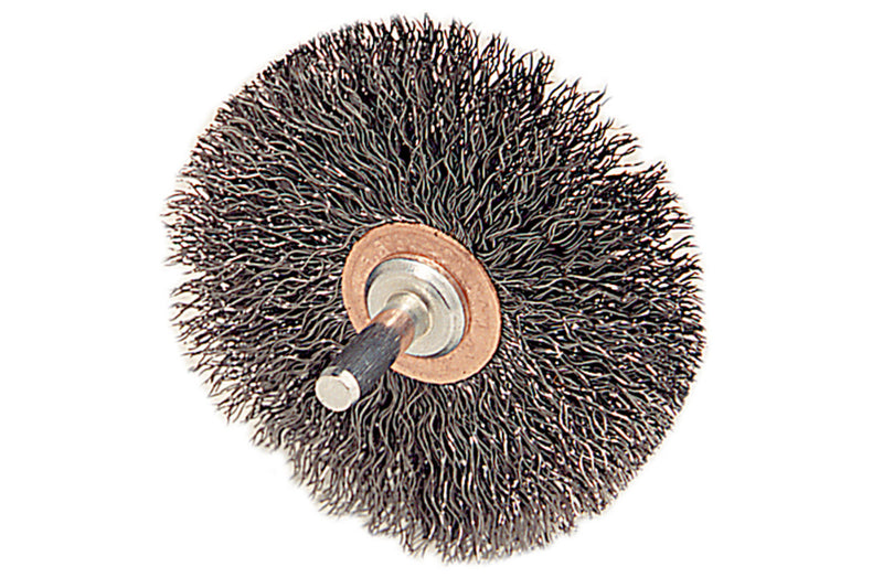 "Metabo 655214000 3"" Crimped Wire Wheel Brush (Pack of 4)"