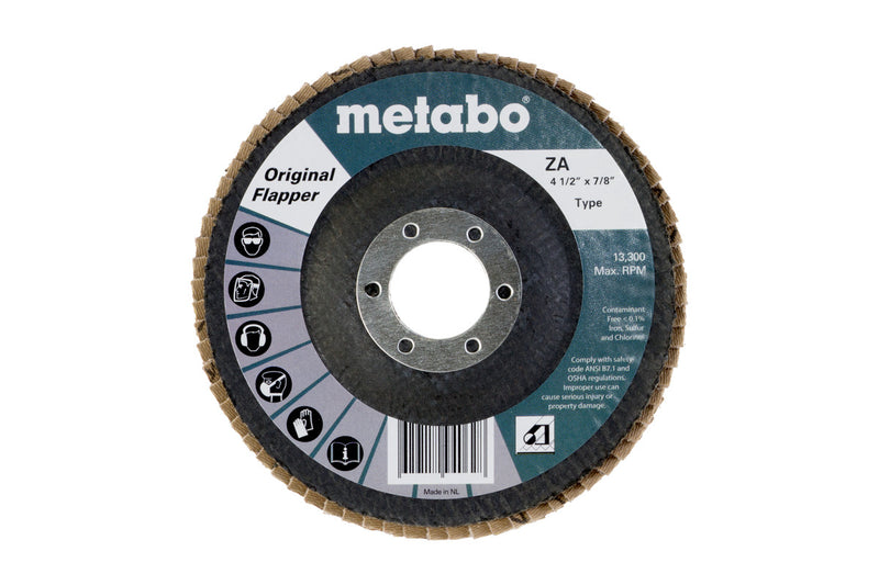 "Metabo 629405000 4 1/2"" Original Flapper 40 7/8 T29 Fiberglass, 10 Pcs/Pack (Pack of 10)"