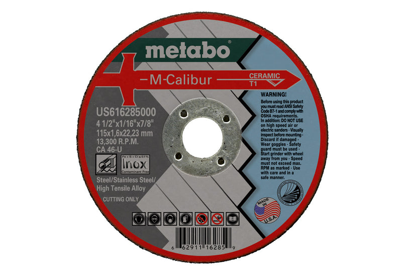 "6""  X  1/16  X  7/8 - CA46U M-CALIBUR T1, 5 PCS/PACK(Pack of 25)"