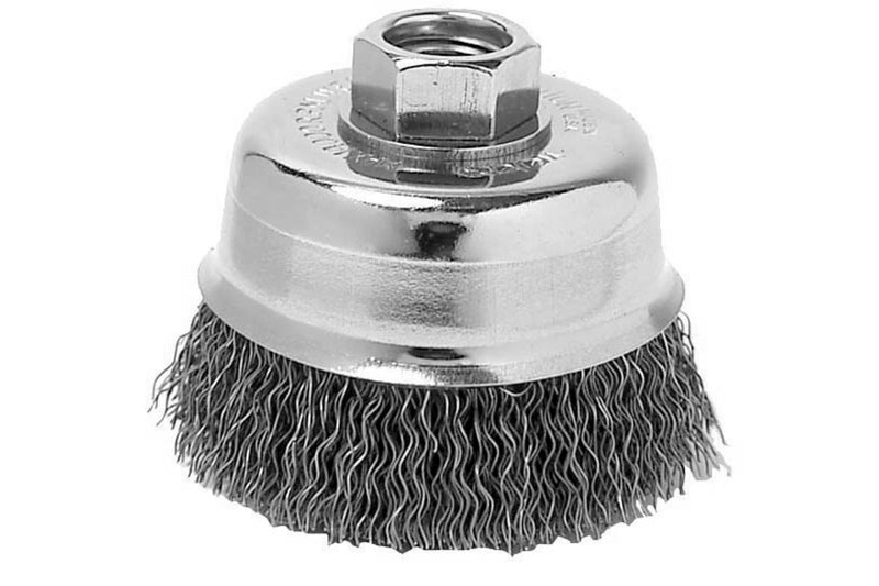 "6""X 5/8-11""CRIMPED CUP BRUSH"