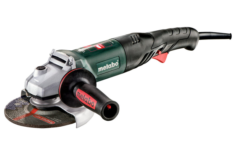 "6"" ANGLE GRINDER - 9,000 RPM - 13.2 AMP W/ELECTRONICS, NON-LOCK PADDLE, RAT TAIL"