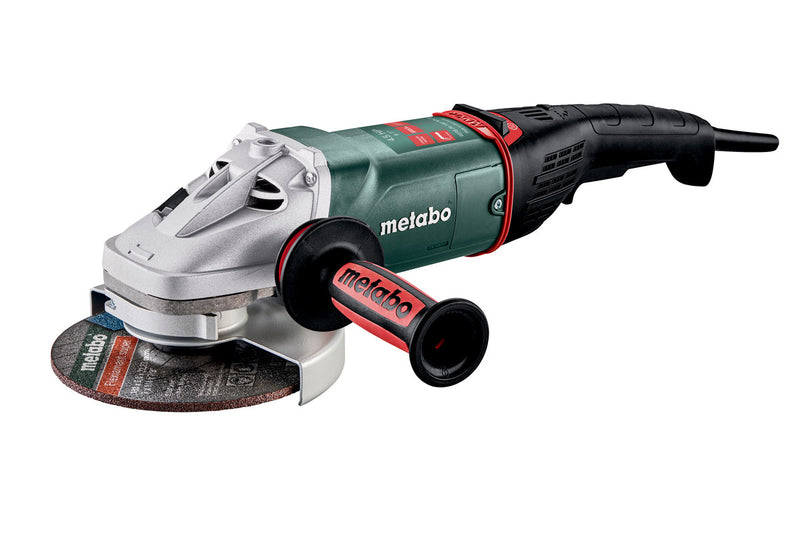 "7"" ANGLE GRINDER - 8,450 RPM - 15.0 AMP W/BRAKE, NON-LOCK PADDLE, ELECTRONICS"