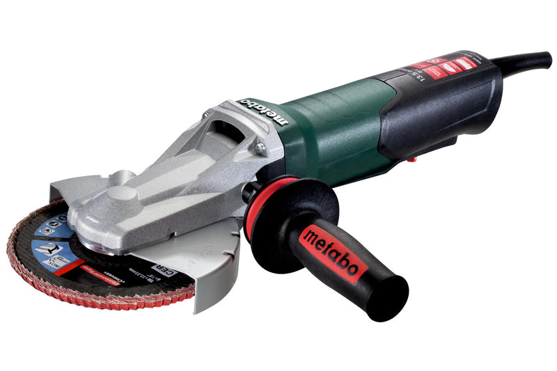 "Metabo 613084420 6"" Flat Head Grinder - 13.5 Amp w/Non-Lock Paddle, Electronics"