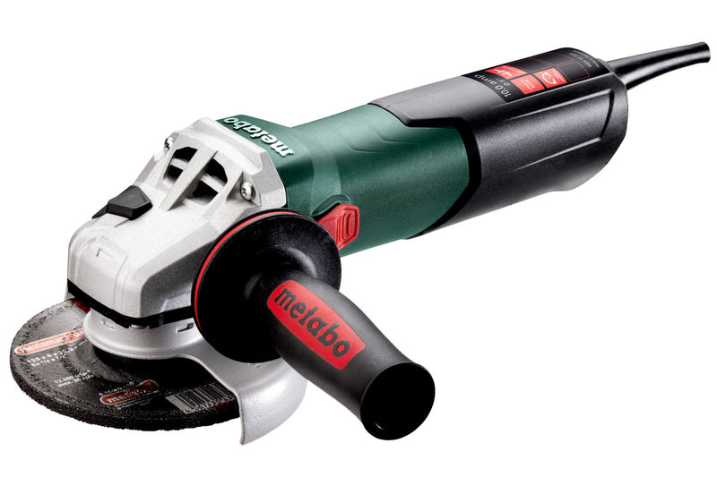 "4.5"" / 5"" VARIABLE SPEED ANGLE GRINDER - 2,800-10,500 RPM - 11.0 AMPS - W/ LOCK-ON, ELECTRONICS"