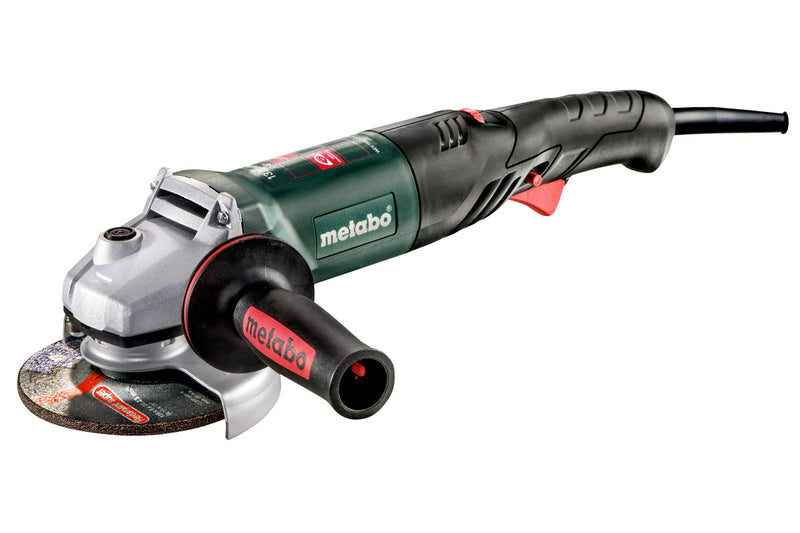 "5"" VARIABLE SPEED ANGLE GRINDER - 3,500-11,000 RPM - 13.2A W/NON-LOCK TRIGGER, RAT TAIL"