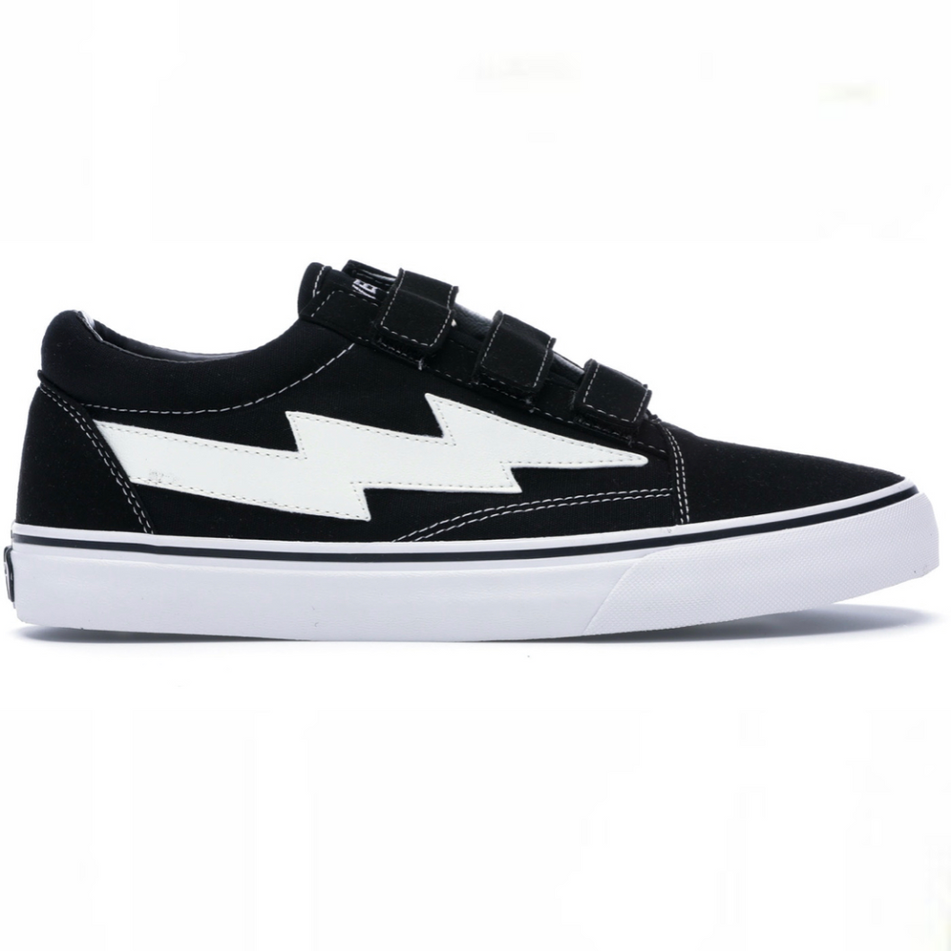 Revenge X Storm Low Top Velcro Black