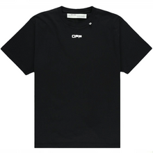 Load image into Gallery viewer, OFF-WHITE Oversized Fit Caravaggio Square T-Shirt Black/Multicolor