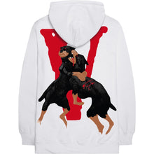 Load image into Gallery viewer, City Morgue x Vlone Dogs Hoodie White