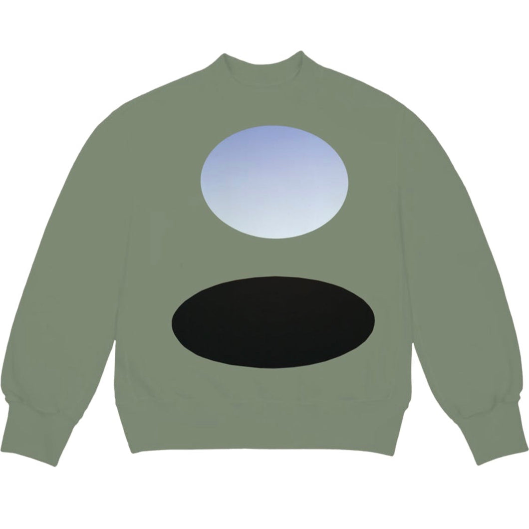 Kanye West CPFM for JIK Crewneck Olive