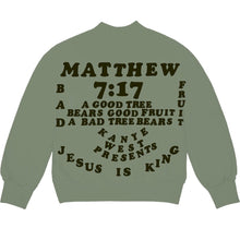 Load image into Gallery viewer, Kanye West CPFM for JIK Crewneck Olive