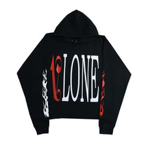 Load image into Gallery viewer, Vlone X Palm Angels Hoodie Black/Red