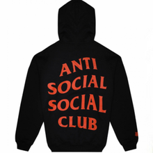 Load image into Gallery viewer, Anti social social club x undefeated black