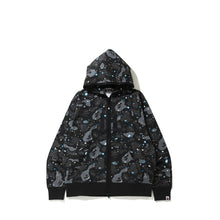 Load image into Gallery viewer, Bape relaxed space camo full zip