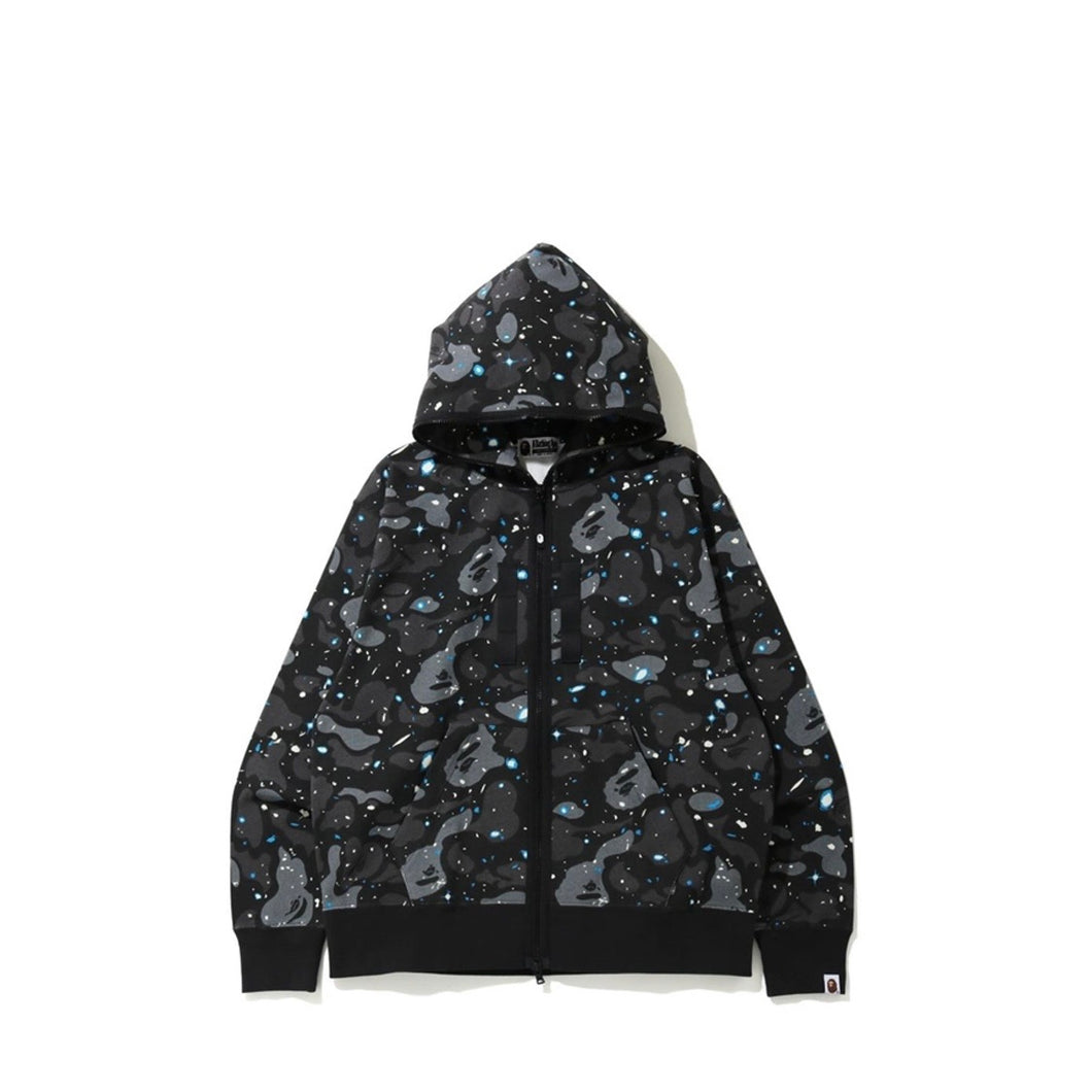 Bape relaxed space camo full zip
