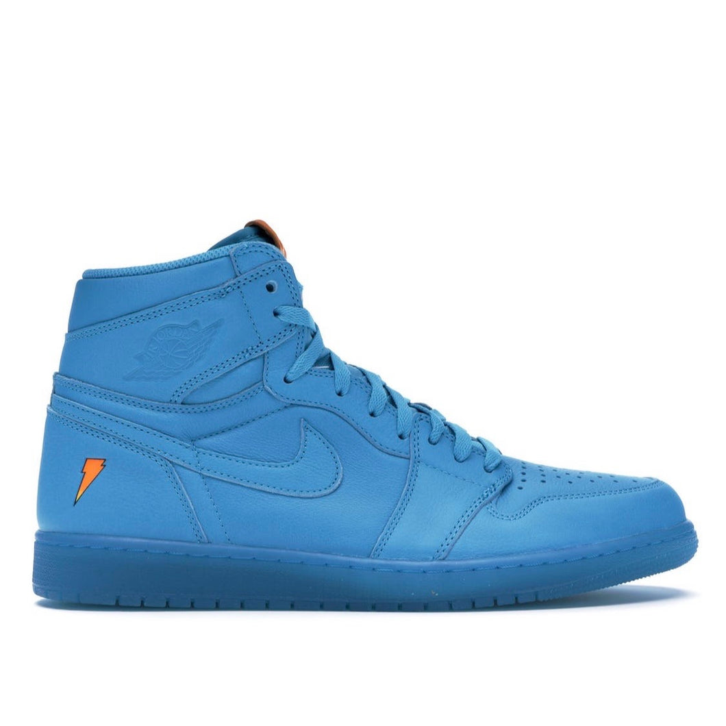 Pre-owned Jordan 1 retro Gatorade blue lagoon