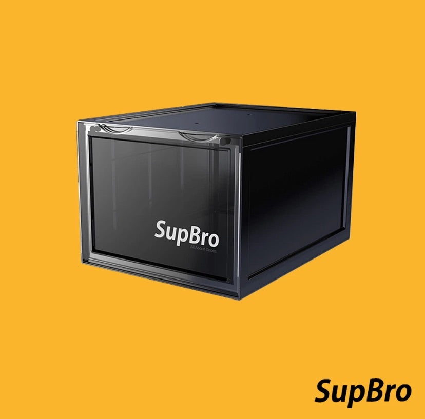 SupBro shoe crates