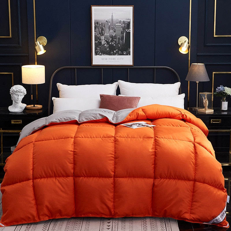 150x200cm/200x230cm Soft Goose Down Comforter Duvet Winter Down Blankets Feather Bed Soft Winter Quilted Quilt Blanket Comforter