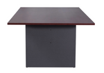 Manager Boardroom Table with Ironstone Base