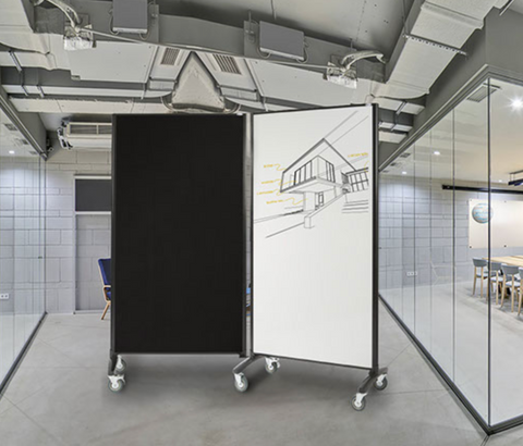 Communicate Whiteboard - Room Dividers