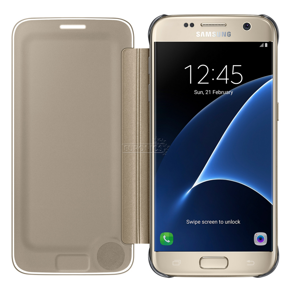 best service 94a21 759ea Samsung Galaxy s7 clear view cover | :) Phoneinc