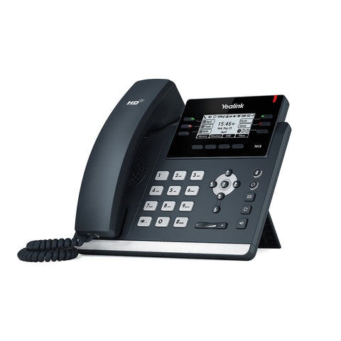 "Yealink 2.7"" LCD display Enterprise HD VoIP Gigabit IP Phone handset (6 VoIP Line)"
