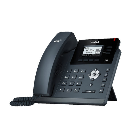 "Yealink 2.3"" LCD display Enterprise HD VoIP Gigabit IP Phone handset (3 VoIP Line)"